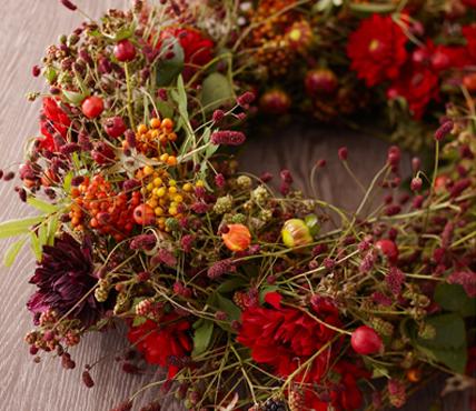 kranz-herbstblumen